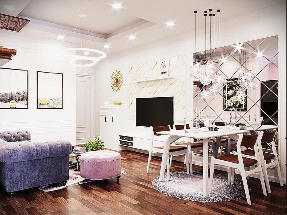 Phòng khách 50 m2