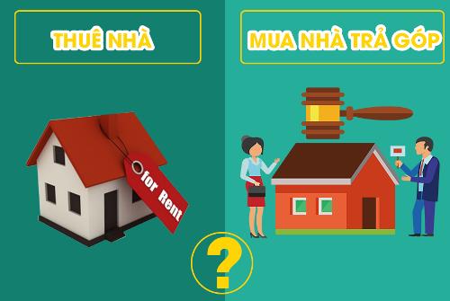 mua chung cư trả góp hay đi thuê